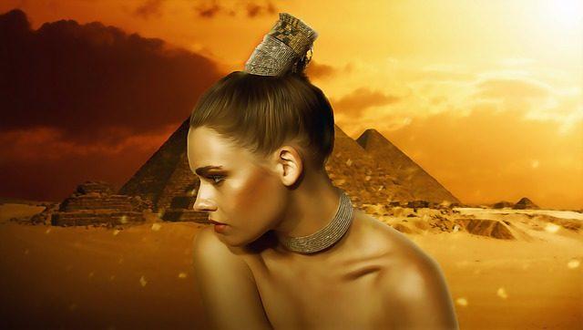 エジプトの女性