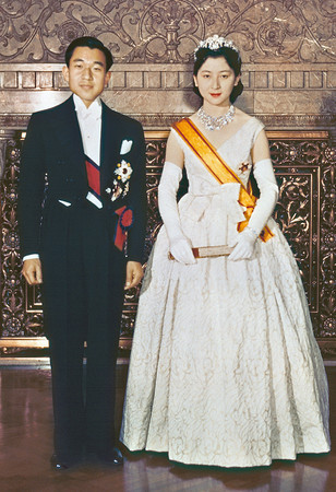 天皇と美智子様